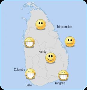 Le climat en janvier au Srilanka