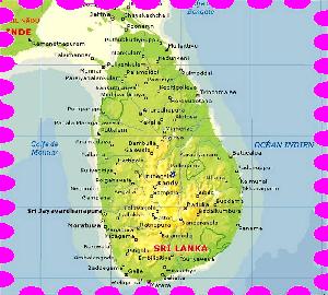 Sri Lanka Carte Des Plages.Top Questions Avant De Partir Au Sri Lanka Blog Du Sri Lanka