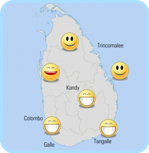 partir en mars au srilanka