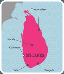 Climat au Sri Lanka