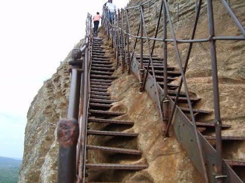 escaliers rocher du lion